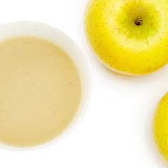 シナノゴールドと甘酒のデザートスープ